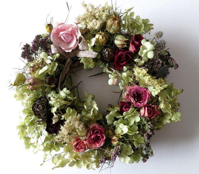 Getrocknete Blüten 8 besten rosenkranz rosendeko getrocknete bilder auf