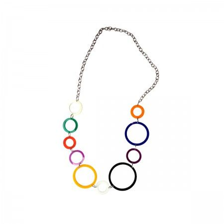 Punti Di Vista The views are always different!  Multicolor necklace.