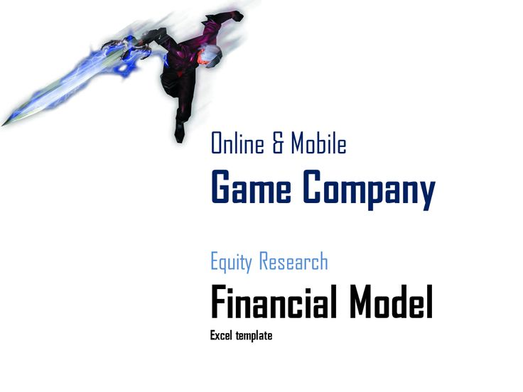 game company financial model