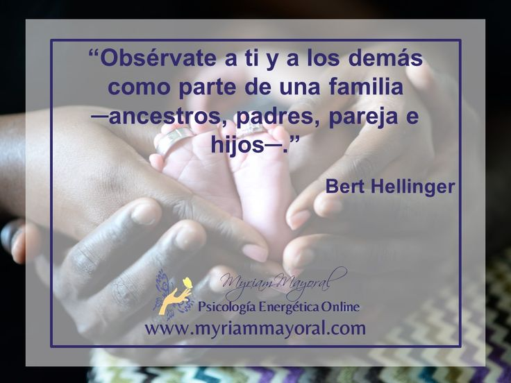 Siempre cuentas con el respaldo, apoyo, amor y bendiciones de tu sistema familiar para hacer tu vida de mejor manera. Escucha el ejercicio de este video aquí: http://www.myriammayoral.com/recibe-bendiciones-de-tus-ancestros/