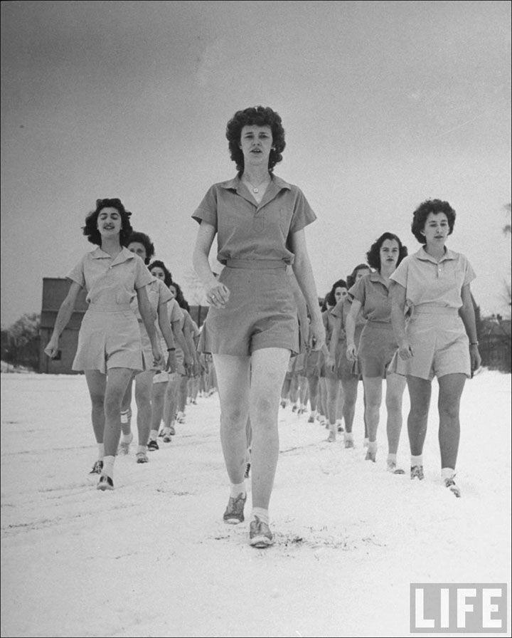 New Hampshire Girls RPTC, 1942. Foto: Alfred Eisenstadt.
