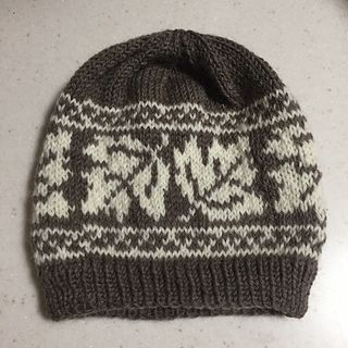 Maple Leaf Hat by Catherine Wolf - free