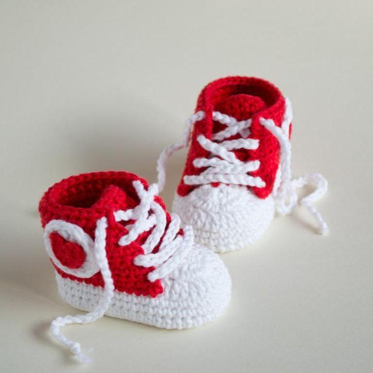 60 best Crochet Baby Footware images on Pinterest | Patrones de ...