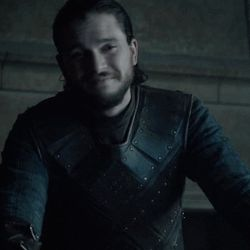 Pin for Later: A Celebration of Jon Snow and His Sexy Man Bun on Game of Thrones And when he smirks.