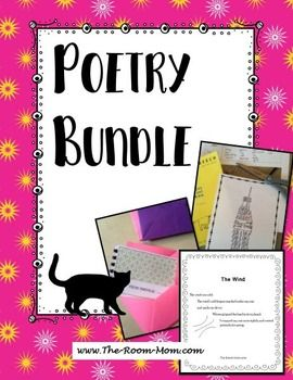 Poetry and Figures of Speech Bundle, comprehensive poetry unit. Students learn figures of speech, identify figures of speech in published poems, and write poems that incorporate poetic devices. Bundle includes novel units, mentor text, and analyzing individual poems, upper elementary