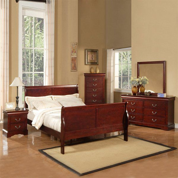32 best Louis Philippe Bedroom Furniture images on Pinterest | Bed ...