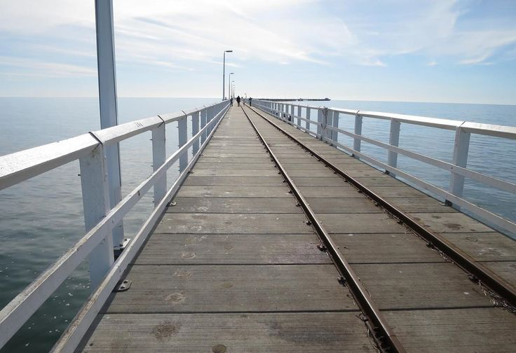 Busselton Jetty in Western Australia is the longest wooden jetty in the Southern Hemisphere stretching almost 2km out to sea.