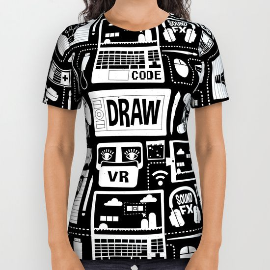 It's a Game Dev World All Over Print Shirt