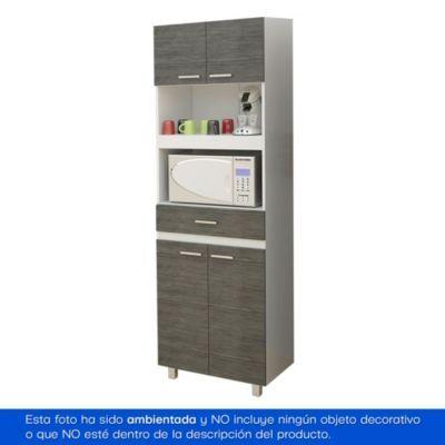 Las 25 mejores ideas sobre gabinete del horno para for Mueble auxiliar microondas