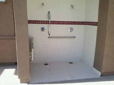 handicap shower stalls wheelchair shower stall design ideas