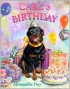 """""""Everyone's favorite Rottweiler is back in top form. Carl's family has planned a surprise party for him and as last-minute preparations take shape, Carl and baby Madeleine are sent to take their naps at a neighbor's. Naturally Carl sneaks back into the house with Madeleine in tow, inspects most of the presents (and hides a package containing dog shampoo), adds sugar to the punch and samples the cake and so forth, all the while covering his tracks. Carl and Madeleine conspire..."""""""