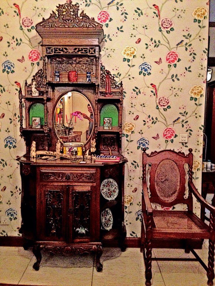 Antique Bed: Peranakan (Baba & Nyonya)