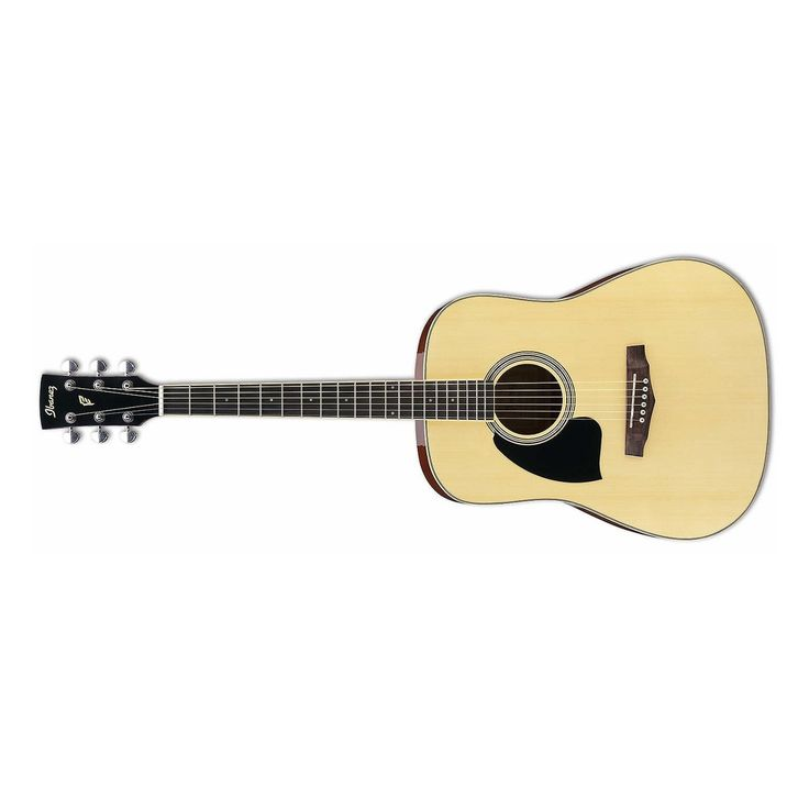 Ibanez PF15LNT Performance Left-Handed Dreadnought Acoustic Guitar in Natural