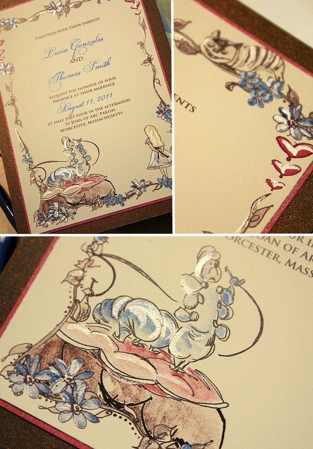 131 Best Themed Weddings   Alice In Wonderland Images On Pinterest |  Wonderland Party, Alice In Wonderland Cakes And Alice In Wonderland Wedding