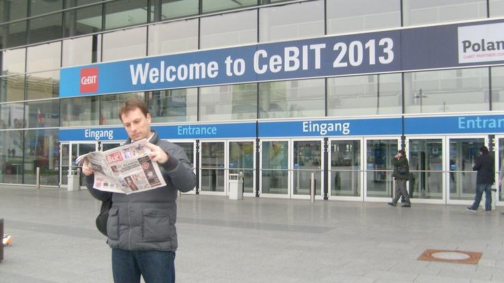 Dokaz da se novine BLIC citaju i u Njemackoj @Blic_online