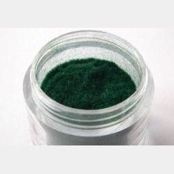 Polvere di Velluto Verde 1 - Decori per unghie - In vendita su: http://www.trucconatura.com Disponibile: € 3,90