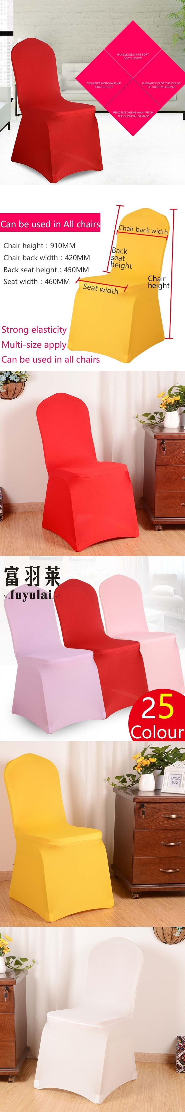 1 piece 25 colors  spandex polyester Elastic Chair Cover Set Printed Chair Covers Dining Chair For Wedding Party Chair 873#