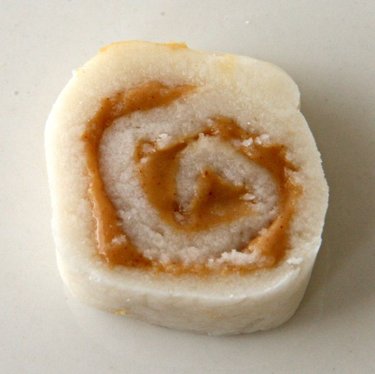 Made these with my mom when I was a kid, Potato peanut butter pinwheel candies