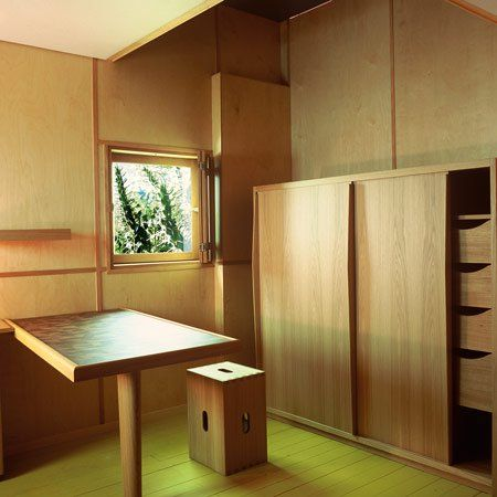 Le Corbusier's Cabanon - the interior 1:1 | Dezeen