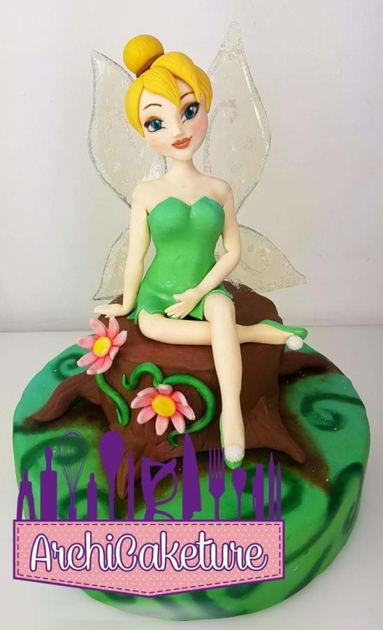 Tinkerbell - Cake by Archicaketure_Italia