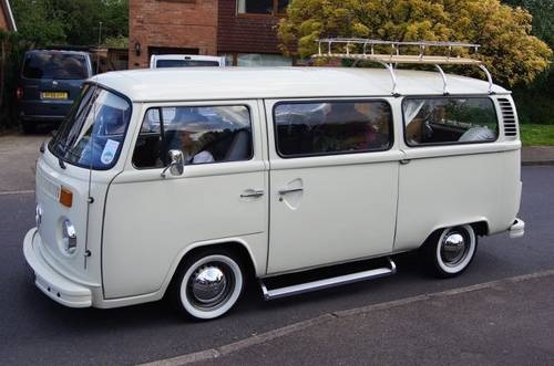 VW T2 Bay Window RHD classic Camper  For Sale (1978)