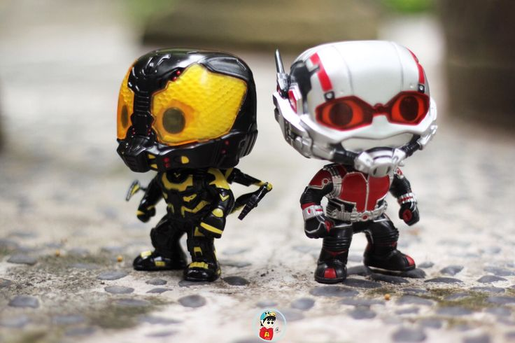 YellowJacket and Antman