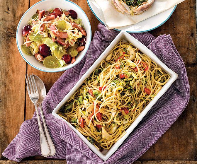 Pasta e verdure: 25 ricette per farsi bastare 80 gr