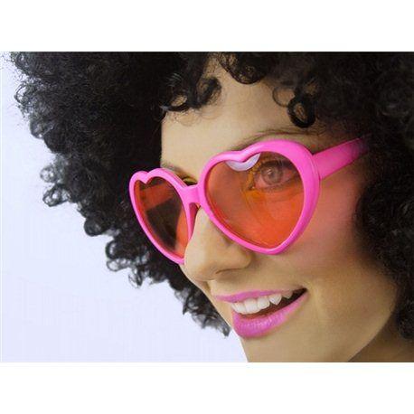 Morsomme Hjertebriller - Rosa