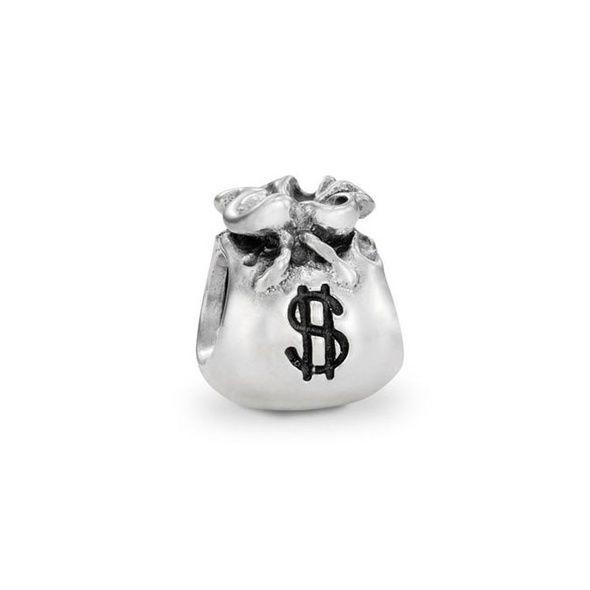 Pandora Silver Money Bags Charm