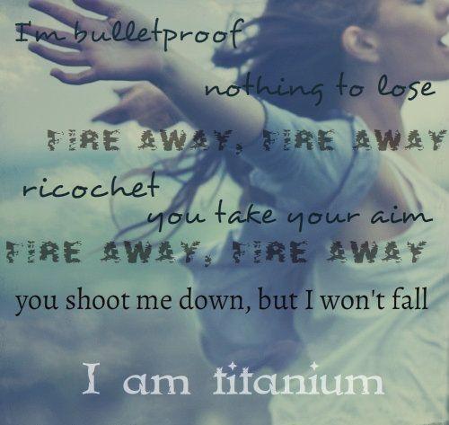 Titanium (David Ghetta - Ft. Sia)