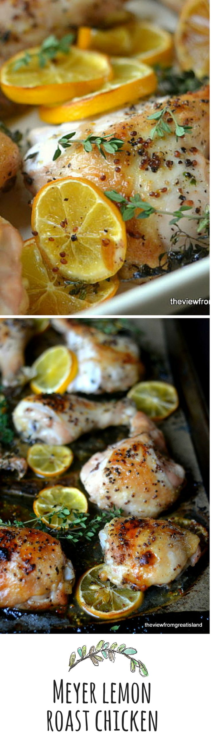 This chicken dish brings a bit of sunshine to the table...