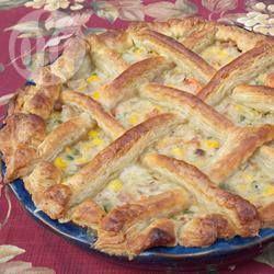 Hartige taart met kalkoen @ allrecipes.nl