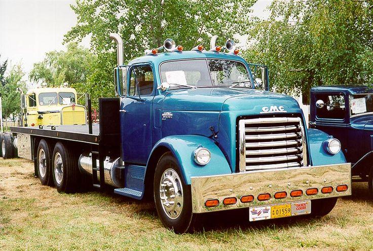 1958 GMC Semi Truck | Amazing and Cool Big Rig Trucks | Pinterest ...