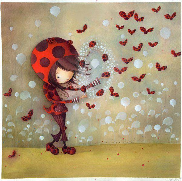 La fille coccinelle Ketto's ladybug girl | Flickr : partage de photos !