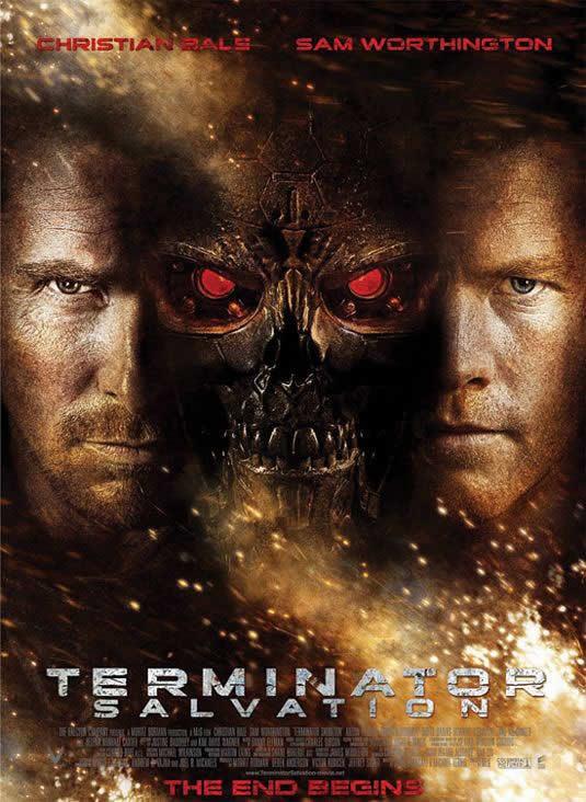 Terminator Salvation ~ 2009 - directed by McG, with Christian Bale, Sam Worthington, Anton Yelchin