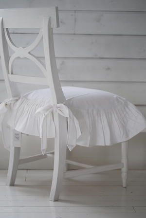DIY::Pretty chair cover French Shabby Chic Cottage Style