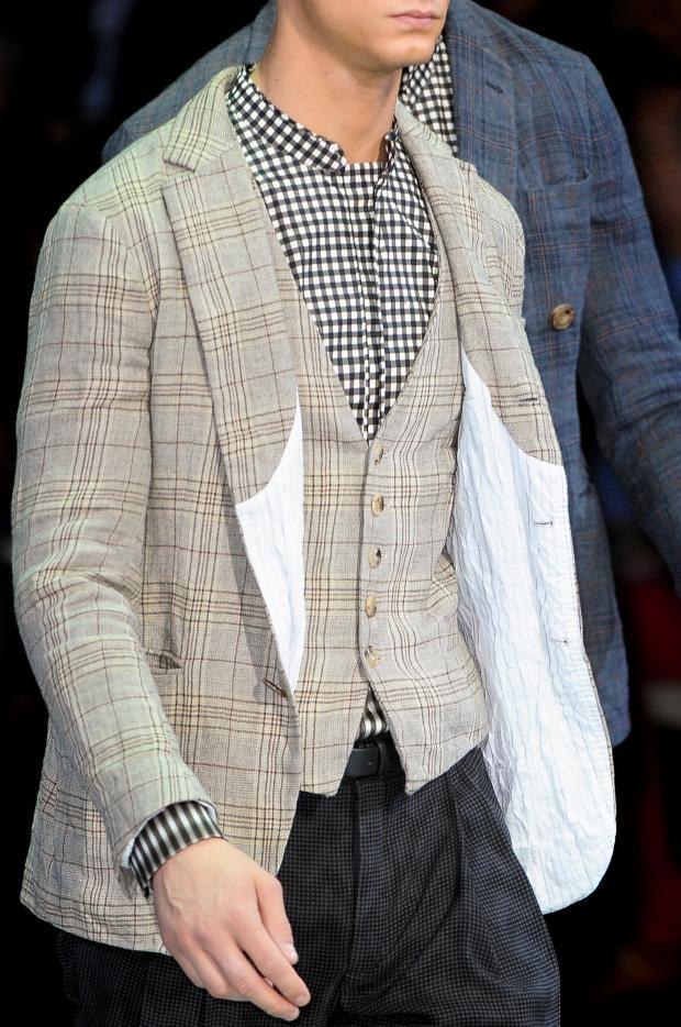 Giorgio Armani Men's Details S/S '13