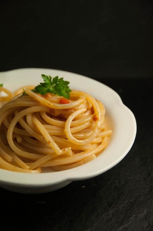 Spaghetti ai ricci di mare di Teresina