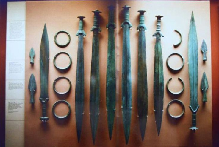 Celtic swords
