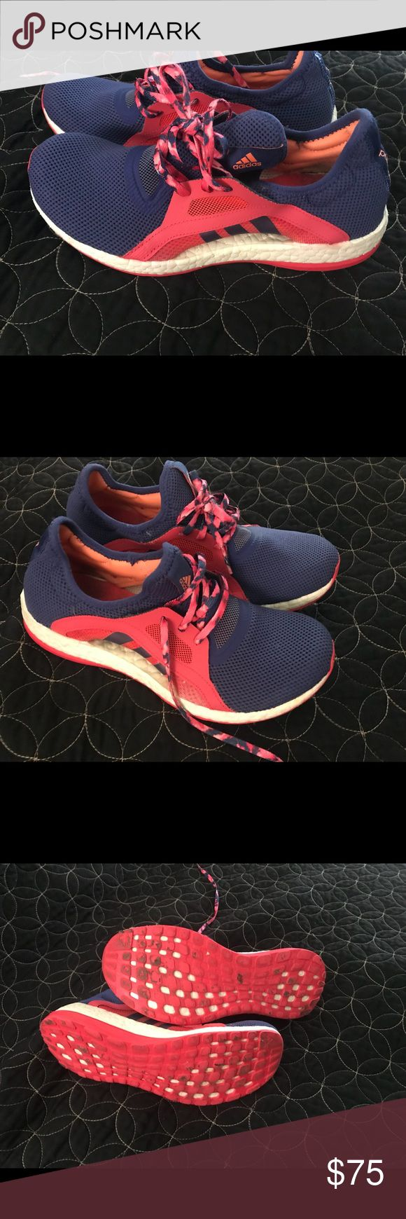 Adidas pure boost 7.5 good condition, they need new insoles adidas Shoes Athletic Shoes