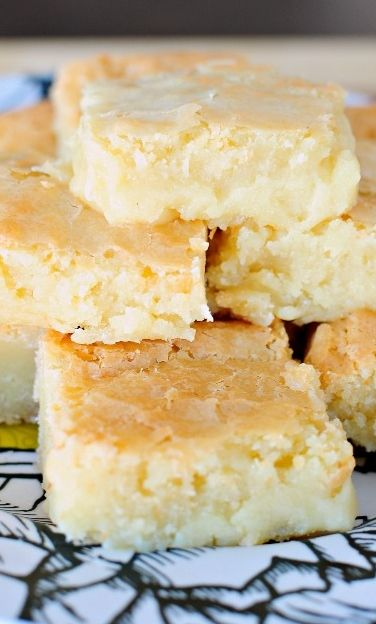 These Fudgy White Chocolate Brownies are just like your favorite fudge brownie, except these are made with white chocolate! They are buttery, chewy, and addicting!