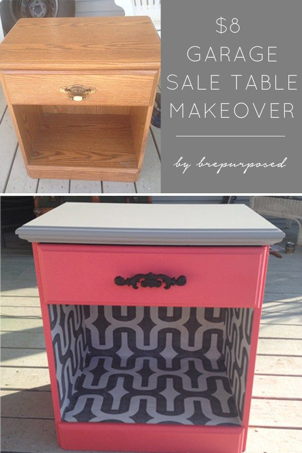 $8 Night Stand Table