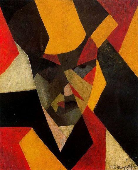 René Magritte, Self Portrait on ArtStack #rene-magritte #art