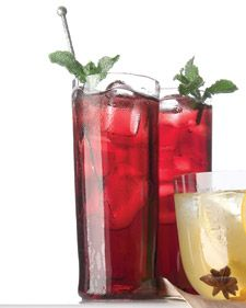 Wine adds dimension to a punch instantly. This drink incorporates sparkling Shiraz, and is a good recipe to have in your repertoire -- it can be made in minutes.