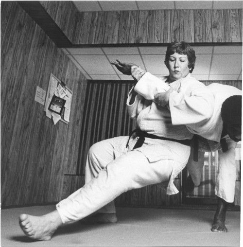 "Known as ""the mother of women's Judo,"" Rusty Kanokogi worked tirelessly for the sport to become part of the Olympics. In 1988 she finally saw her efforts realized when the International Olympic Committee voted to include Judo in the games, and she went to Seoul as coach of the first U.S. women's team."