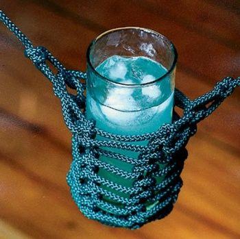 Drink holder for the hammock:)