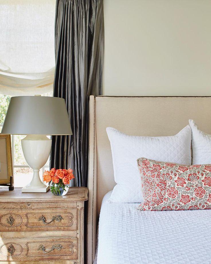 A peek at our own @ashleyfgilbreath's master bedroom>> @ashleygilbreathinteriordesign