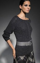 Free Knitting Pattern - Women's Sweaters: Laseta Sweater