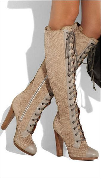LU. Fashion boots / Leather boots / Womens boots / by BDavido