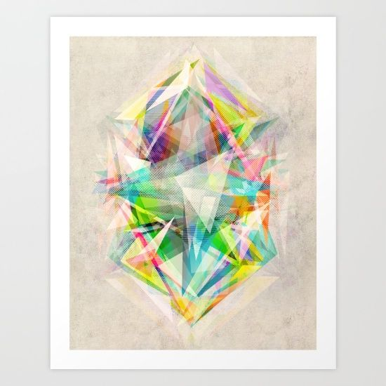 Graphic 5 Art Print